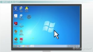 GUI- Graphical User Interface